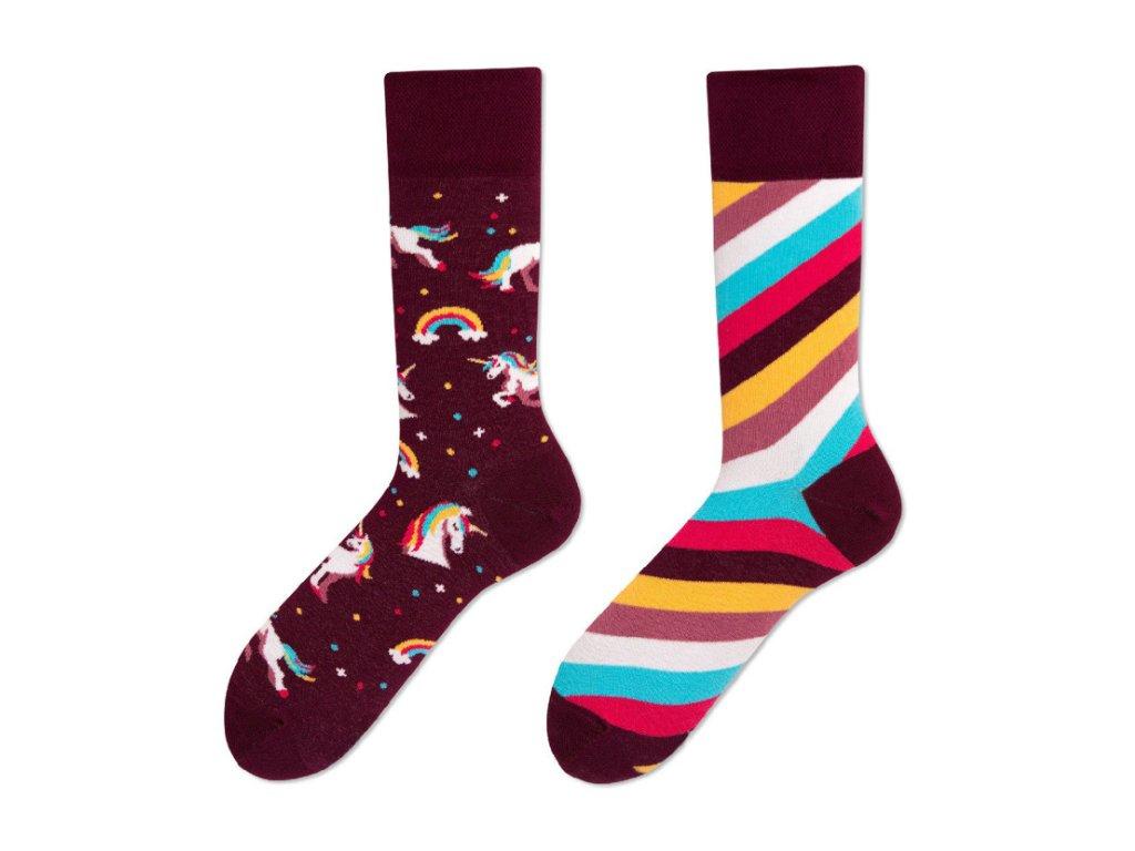 Four Seasons veselé ponožky Jednorožec