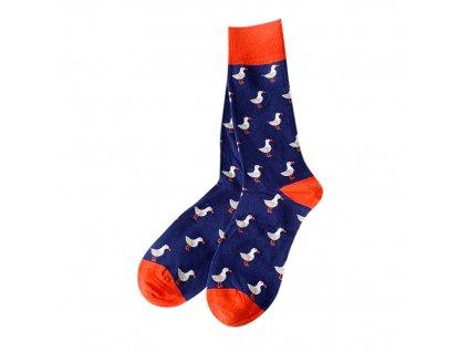 Four Seasons ponožky Kachna, červená