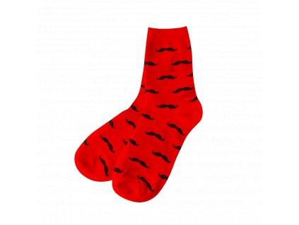 Four Seasons ponožky Gentleman, červené