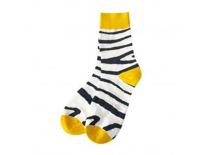 Four Seasons ponožky Zebra