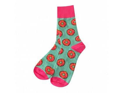 Four Seasons ponožky Růžový donut