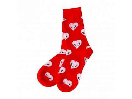 Four Seasons ponožky Smajlík srdce