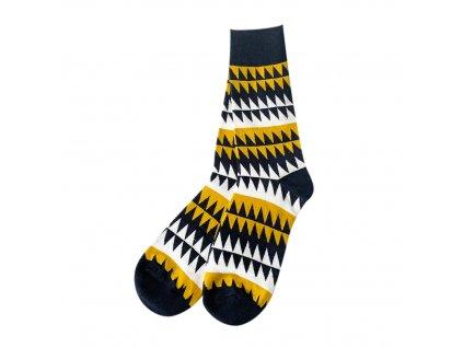 Four Seasons ponožky Černé zuby