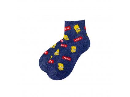 Four Seasons ponožky rude