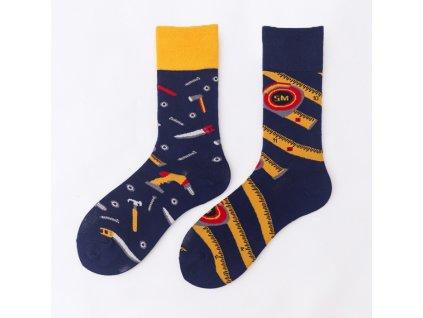 Four Seasons veselé ponožky Hodinový manžel