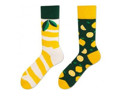 Four Seasons veselé ponožky Citrón