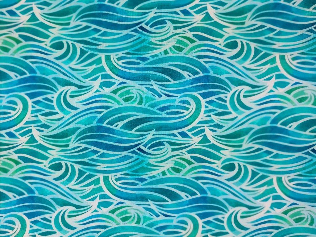 Úplet potisk - Vlny