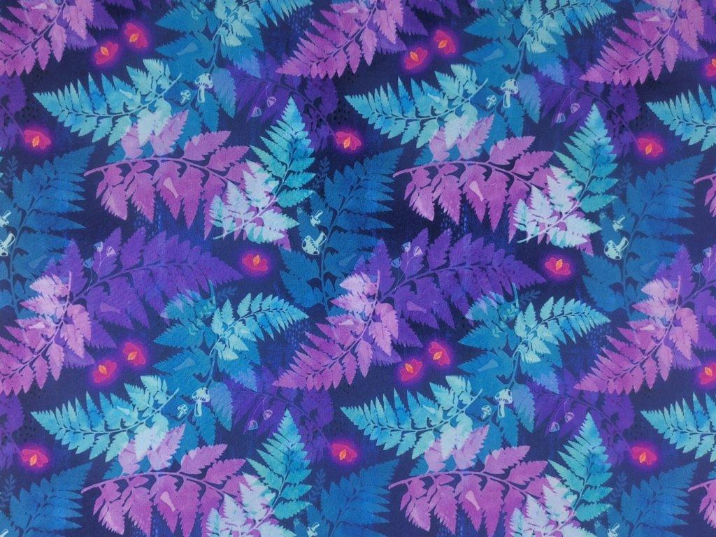 Silky potisk - Kapradí
