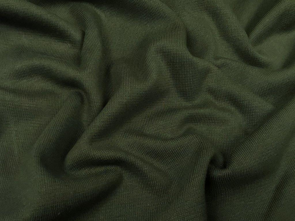 Úplet - army zelená 230g