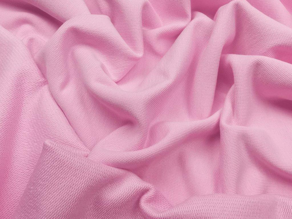 Teplákovina - růžová 290g