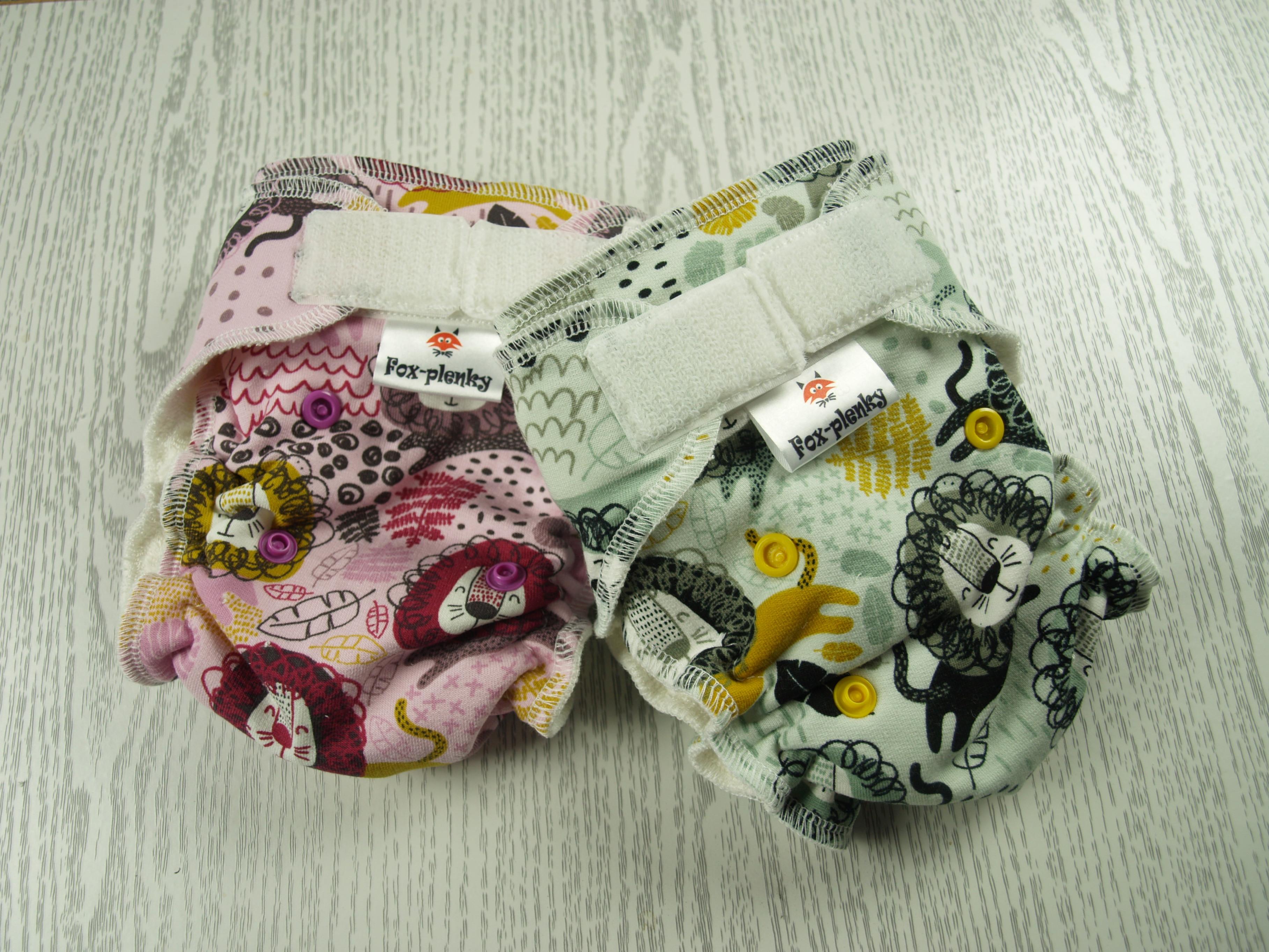 Novorozenecké kalhotové plenky
