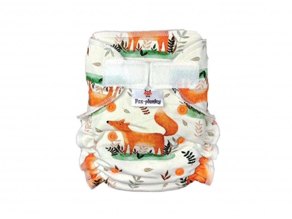 Jednovelikostní kalhotová plenka SZ ježečci