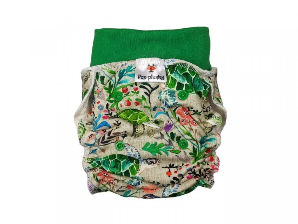 Natahovací kalhotovka Želvy PAT