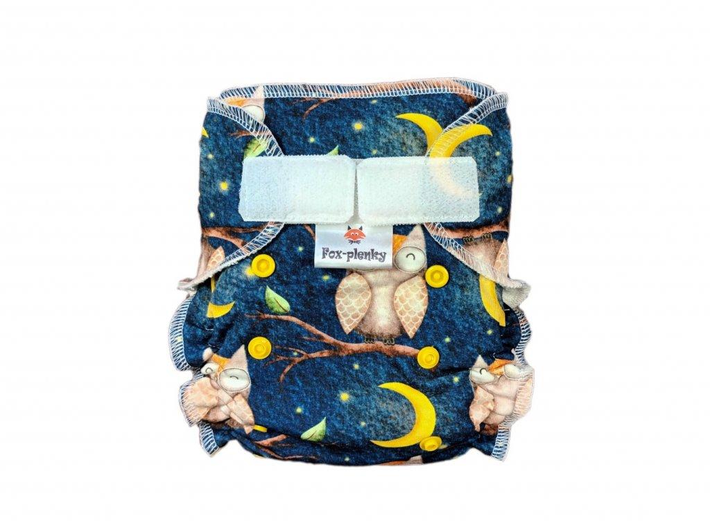Jednovelikostní kalhotová plenka SZ mořský koník