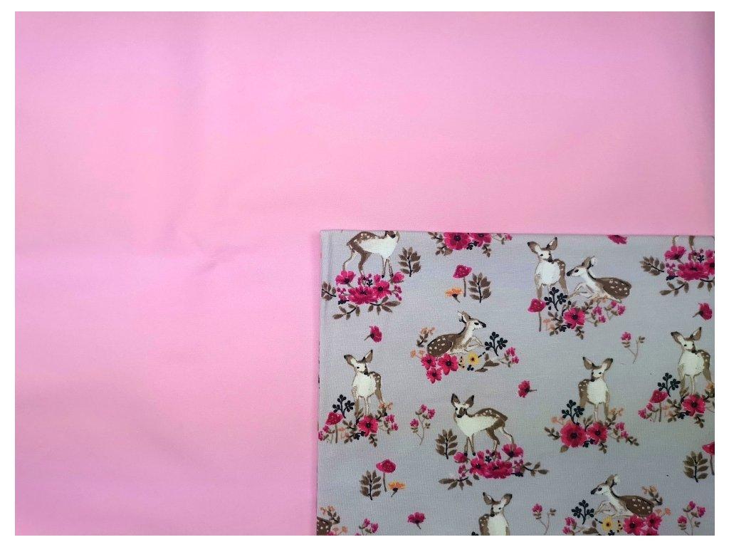 Tréninkové kalhotky - PŘEDOBJEDNÁVKA - růžová + daňci