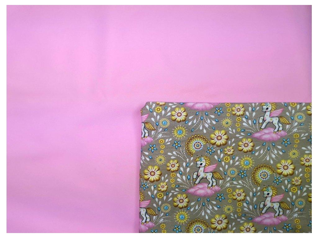 Tréninkové kalhotky - PŘEDOBJEDNÁVKA - růžová + ponny