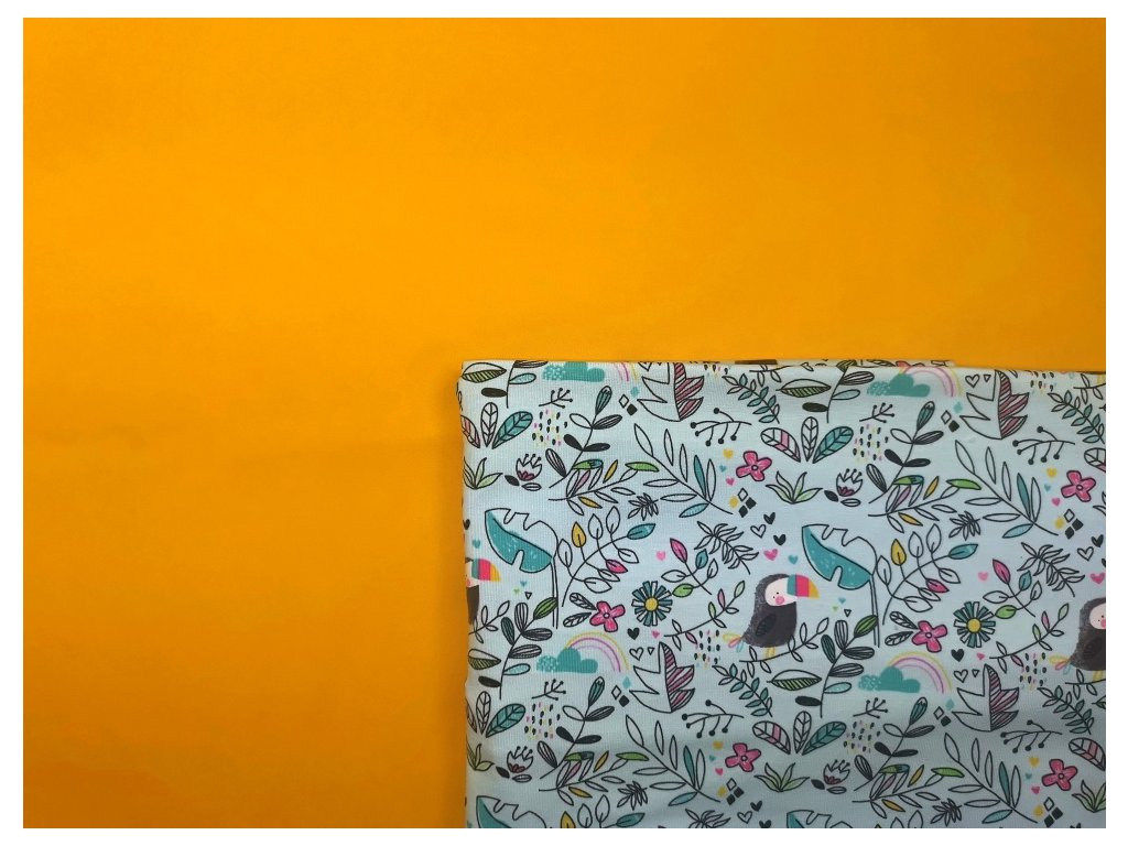 Tréninkové kalhotky - PŘEDOBJEDNÁVKA - žlutá + tukani