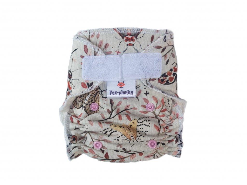 Novorozenecká kalhotovka SZ kolibřík