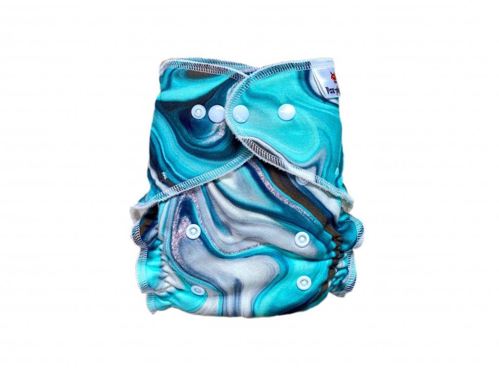 Jednovelikostní kalhotová plenka PAT námořnická