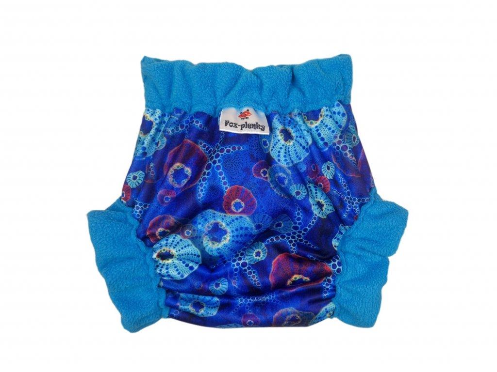 Natahovací svrchní Vel.XL klasik pul - medvídek s deštníkem