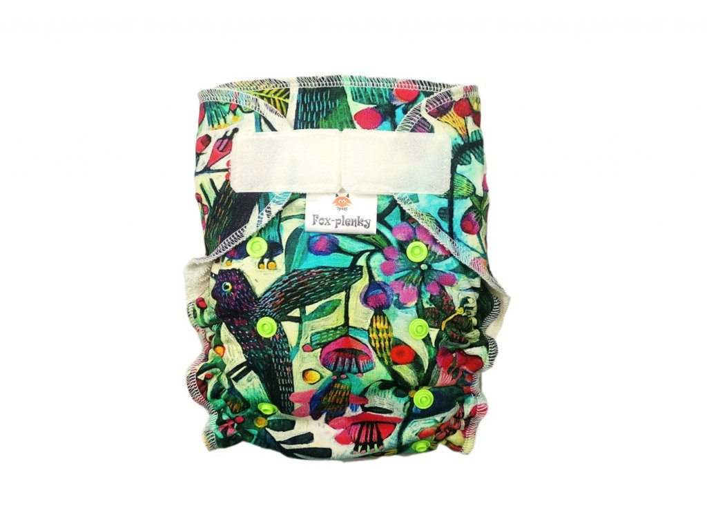 Jednovelikostní kalhotová plenka SZ rybičky