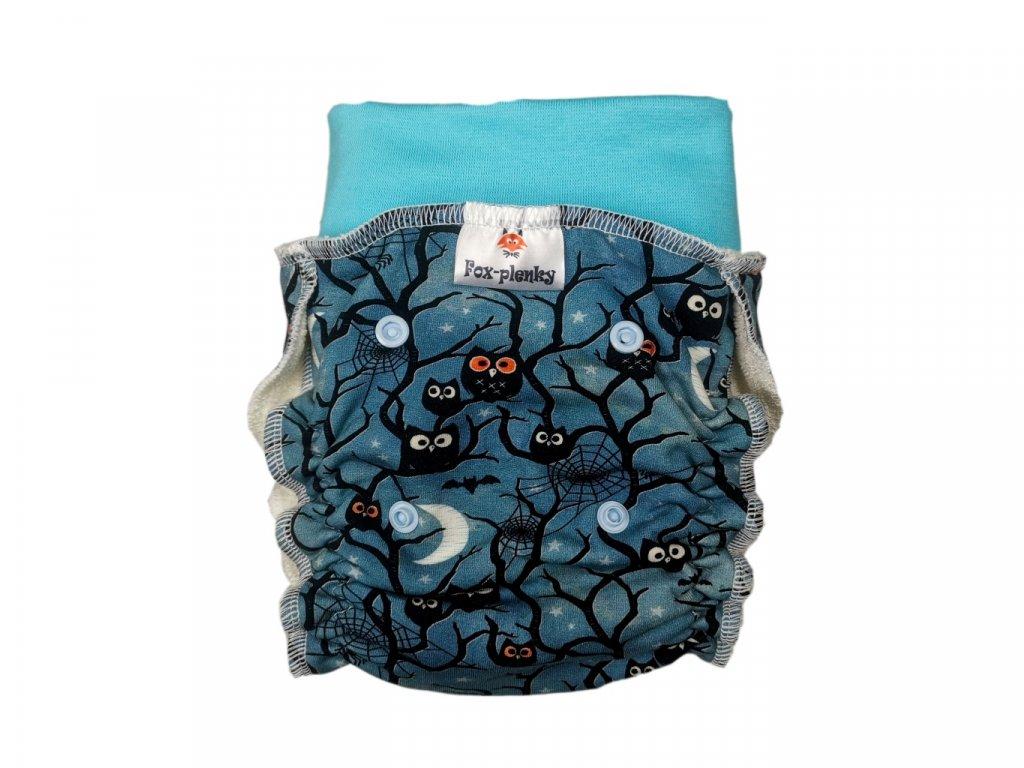 Natahovací kalhotovka Sovičky PAT
