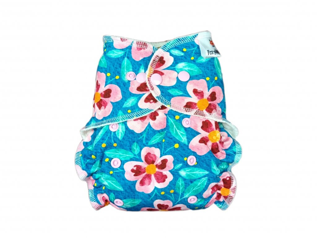 Jednovelikostní kalhotová plenka PAT deštníky