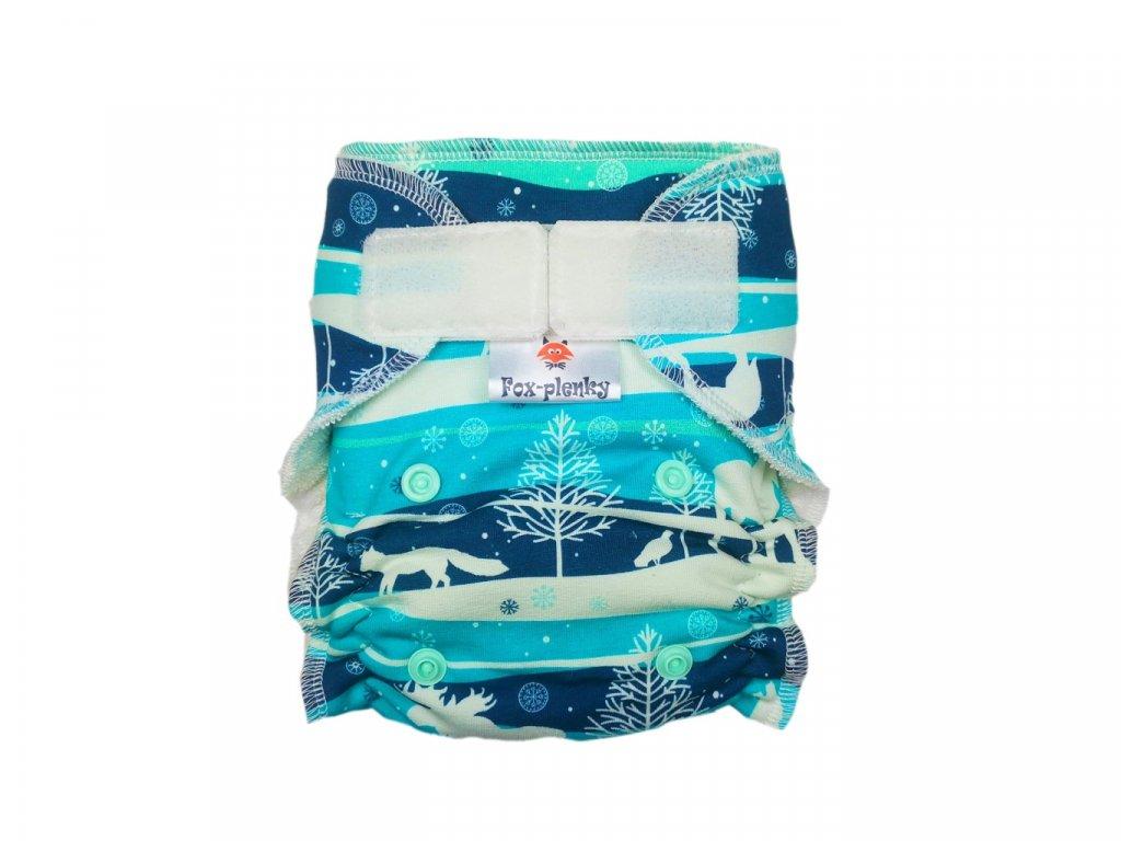 Novorozenecká kalhotovka SZ velryby