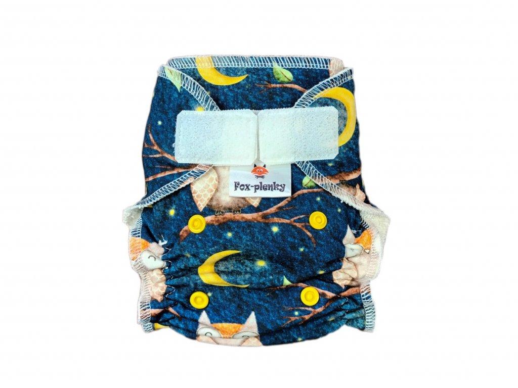 Novorozenecká kalhotovka SZ rozkvetlá louka