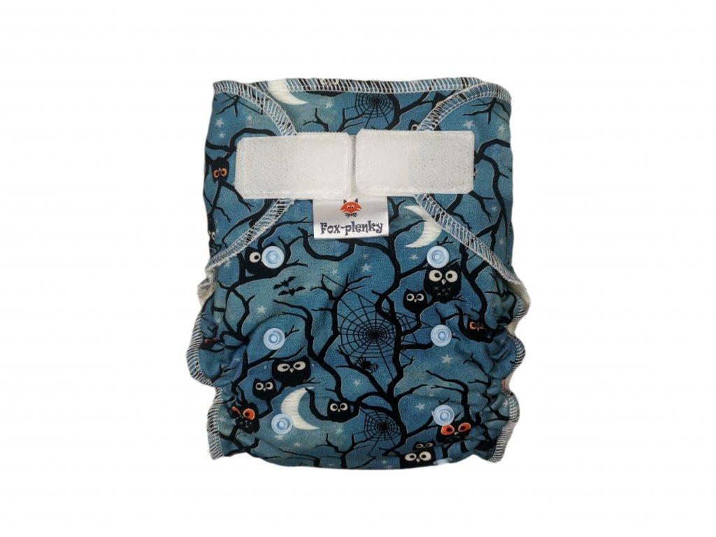 Jednovelikostní kalhotová plenka SZ mašličky