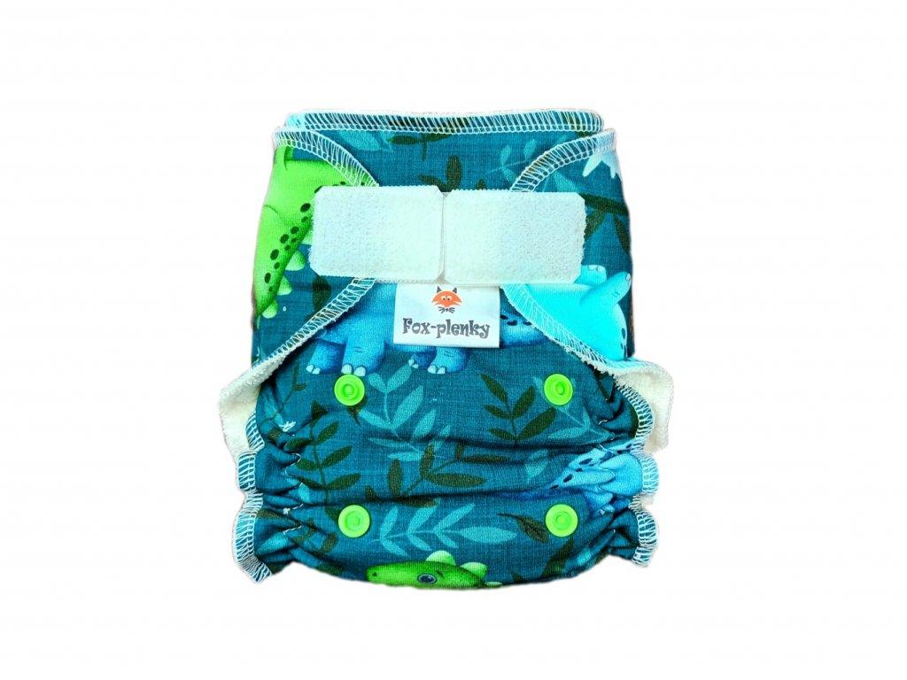 Novorozenecká kalhotovka SZ barevné květy