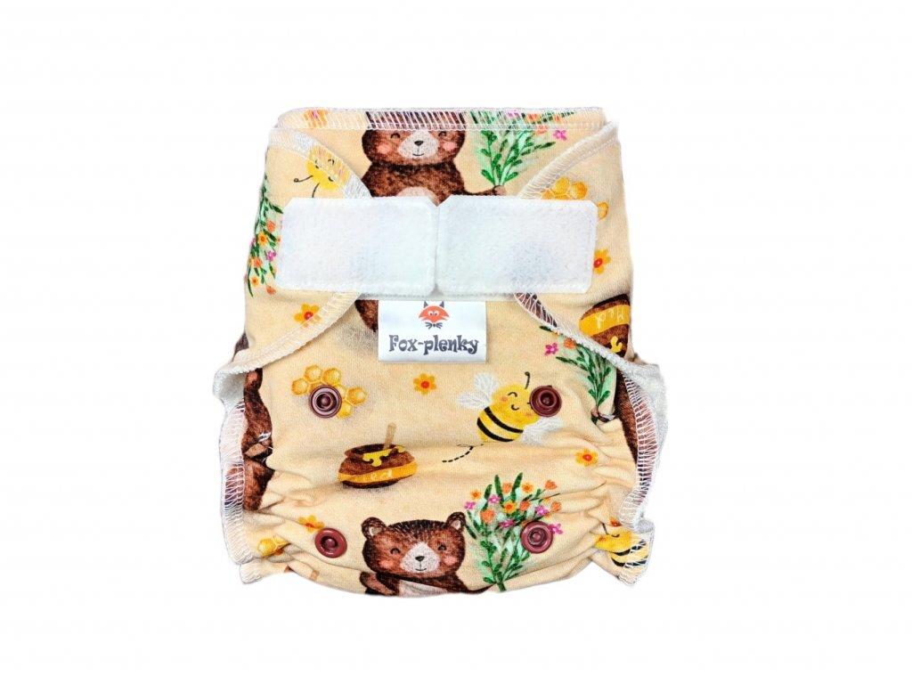 Novorozenecká kalhotovka SZ růžové rostliny