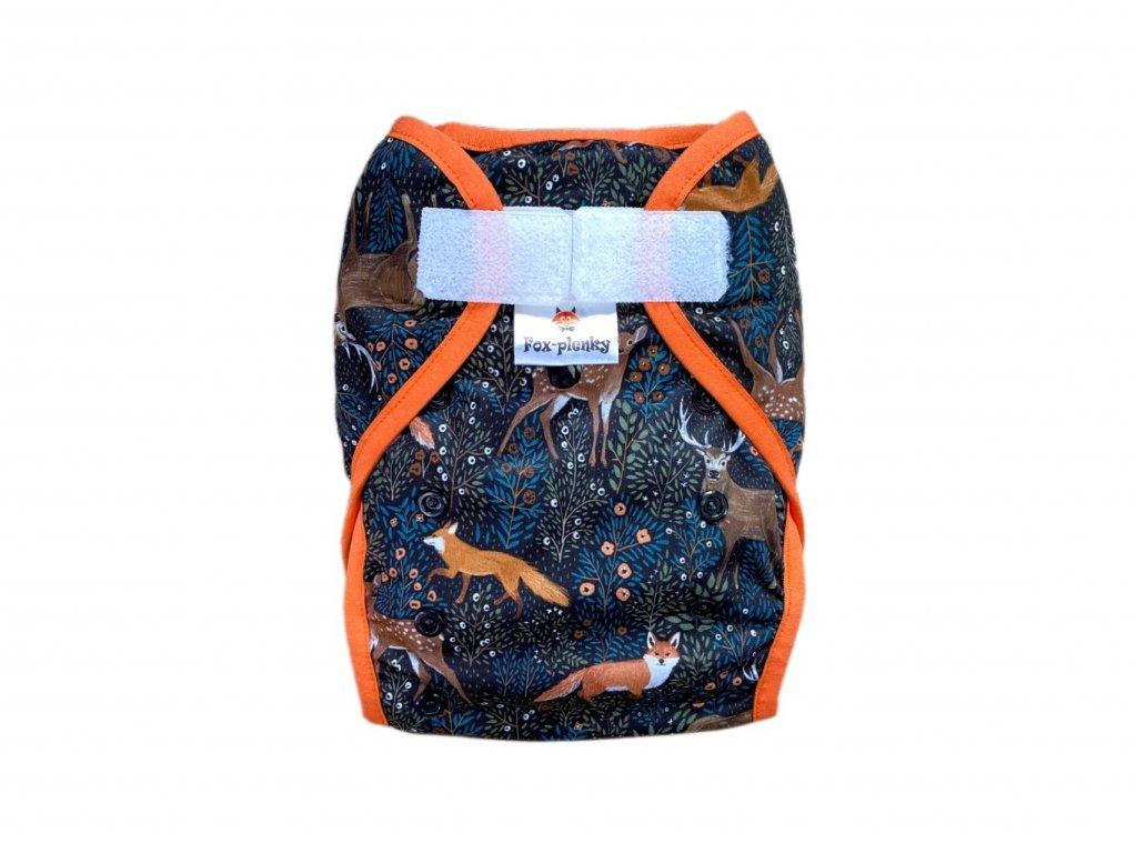 Svrchní kalhotky klasik PUL SZ pomeranče