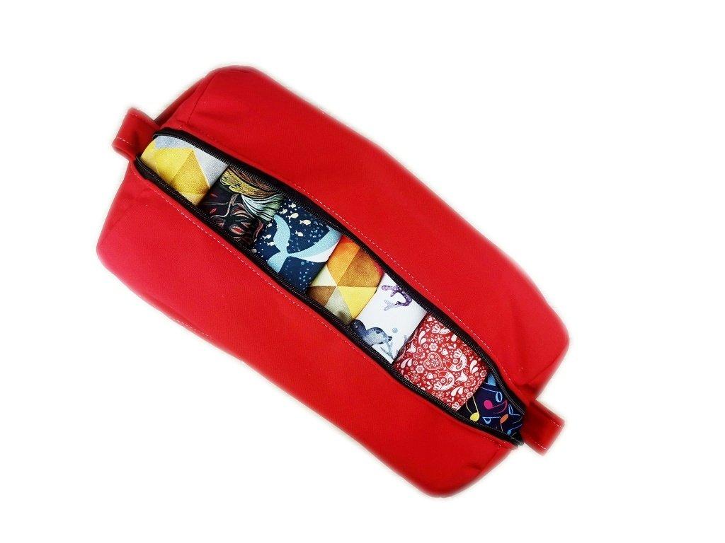 FoxVak PUL taška na pleny jednobarevná - červená