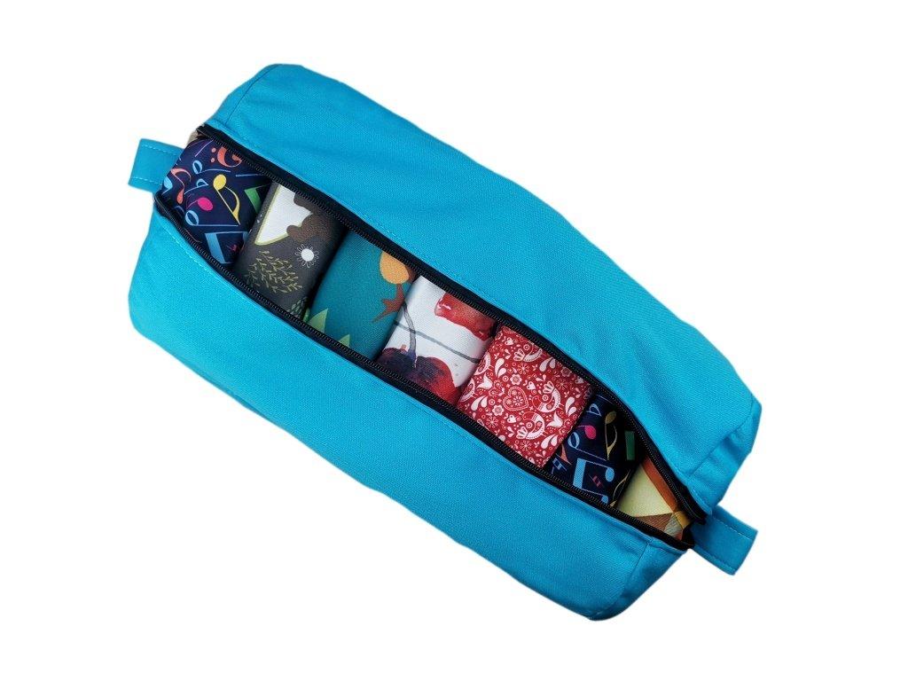 FoxVak taška na pleny jednobarevná - tyrkys