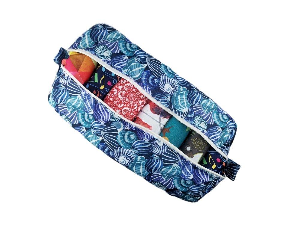 FoxVak taška na pleny - mušličky