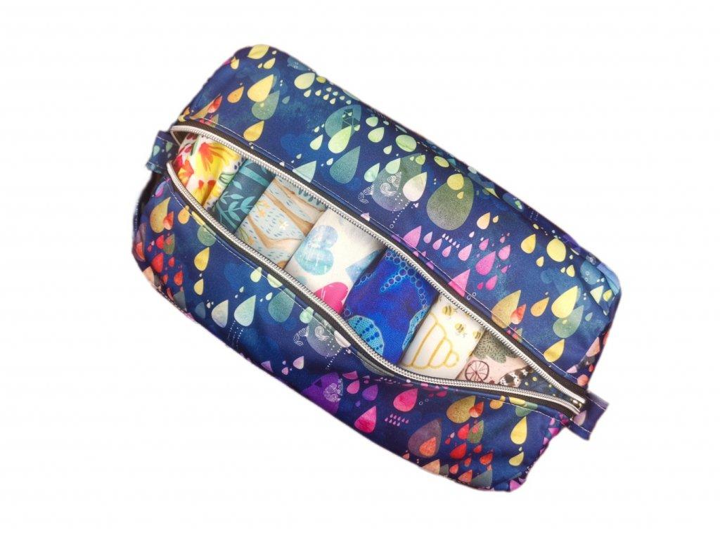 FoxVak SOFT taška na pleny - kapky