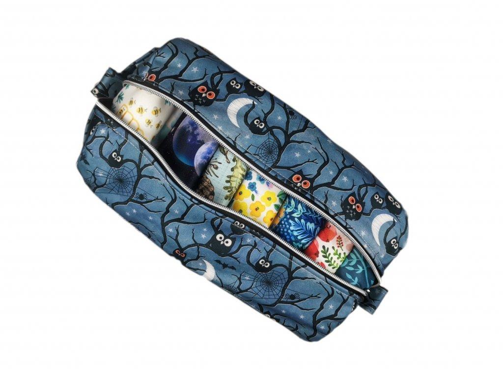 FoxVak SOFT taška na pleny - sovičky