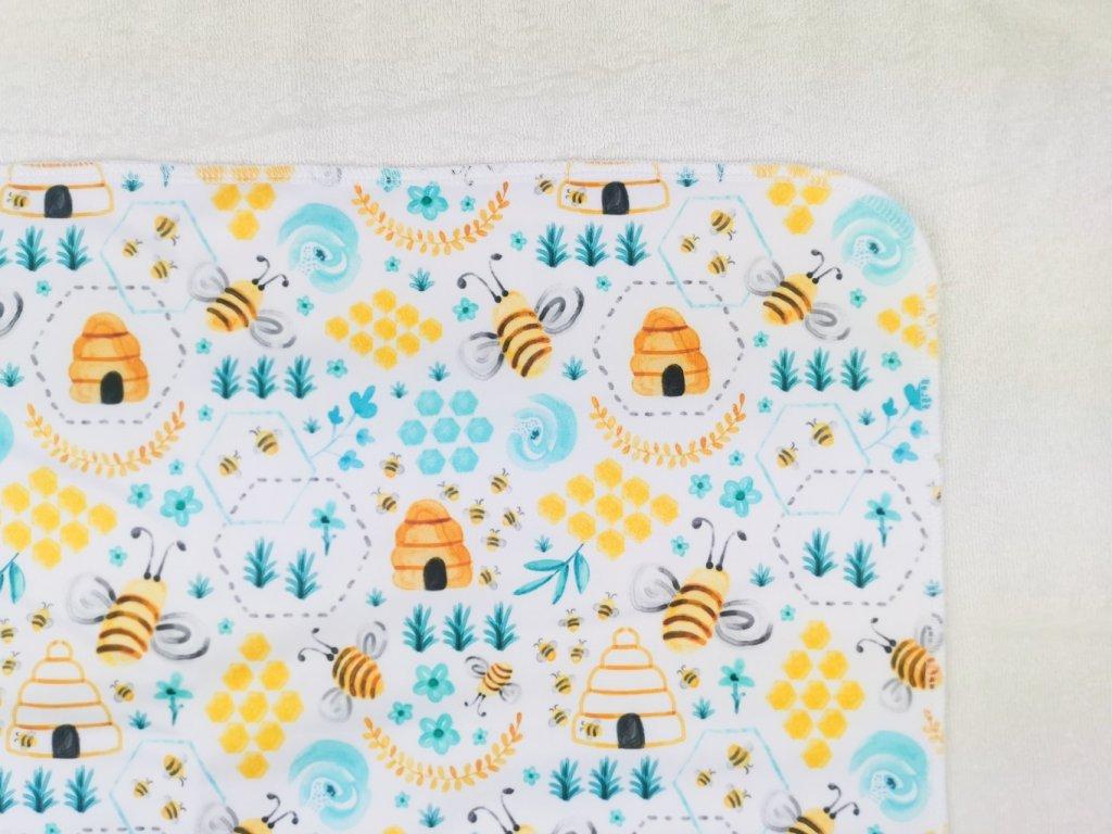 Přebalovací podložka PUL včelí úly