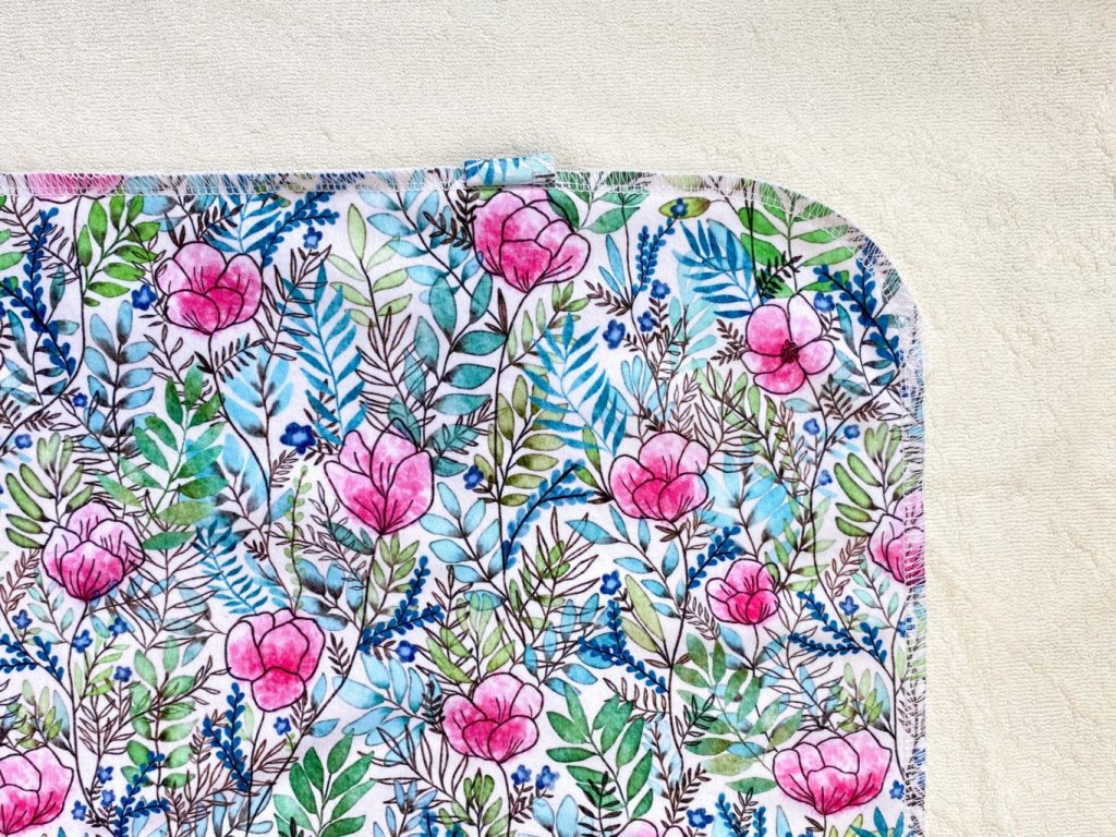 Přebalovací podložka PUL liška v modrém lese