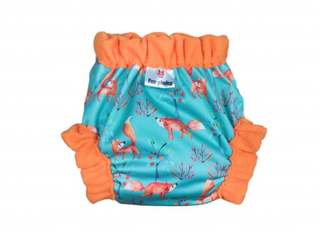 Natahovací svrchní Vel.M klasik pul - zvířátka v černém lese