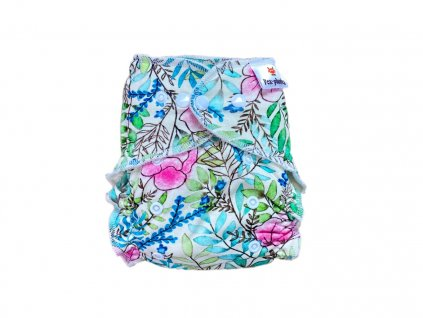 Jednovelikostní kalhotová plenka PAT dívka s basou