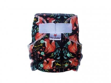 Jednovelikostní kalhotová plenka SZ barevná abstrakce