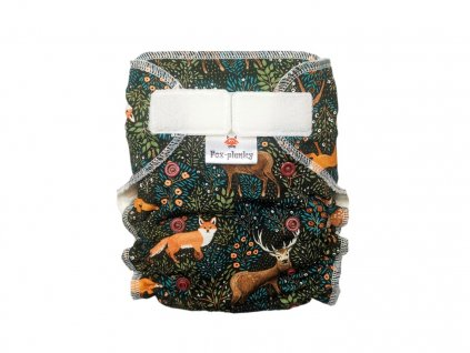 Jednovelikostní kalhotová plenka SZ květy v konturách
