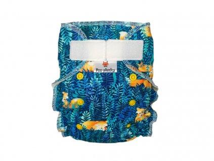 Jednovelikostní kalhotová plenka SZ borůvky