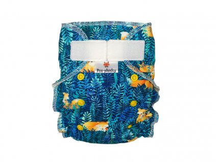 Jednovelikostní kalhotová plenka SZ mandaly