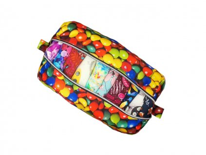 FoxVak PUL taška na pleny - lentilky