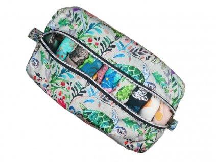FoxVak PUL taška na pleny - medůzy