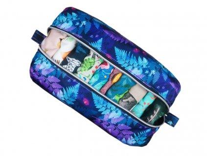 FoxVak PUL taška na pleny - zvířátka v mátovém lese