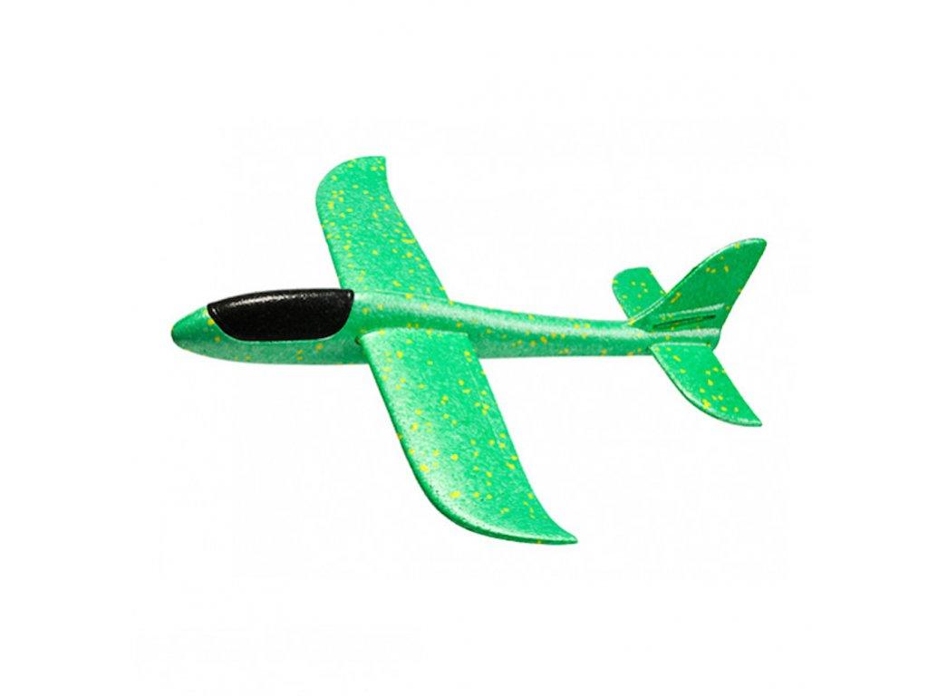 FOXGLIDER dětské házedlo letadlo EPP 48cm zelené bez